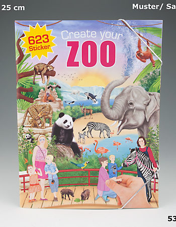 create your zoo stickerbuch